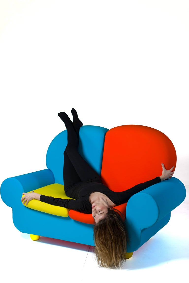 "Sofa Two Seats ""Papi Colors"" the Most Customizable Sofa 5"