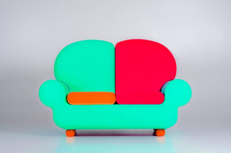 "Sofa Two Seats ""Papi Colors"" the Most Customizable Sofa 10"
