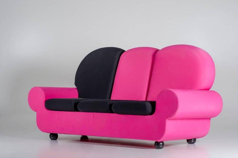 "Modern Sofa 3 seats ""Papi Colors"" the Most Customizable Sofa For Sale"