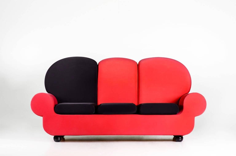 """Contemporary Sofa 3 seats """"Papi Colors"""" the Most Customizable Sofa For Sale"""