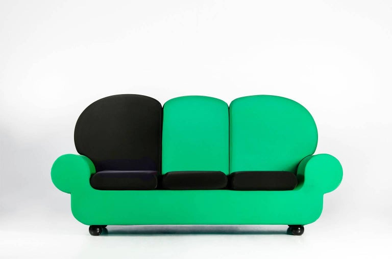 "Foam Sofa 3 seats ""Papi Colors"" the Most Customizable Sofa For Sale"