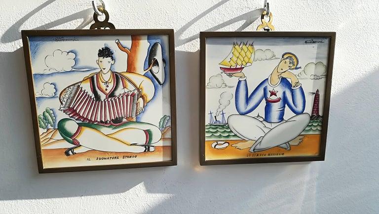 Giò Ponti, 1930, Ceramic Wall Tiles For Sale 3