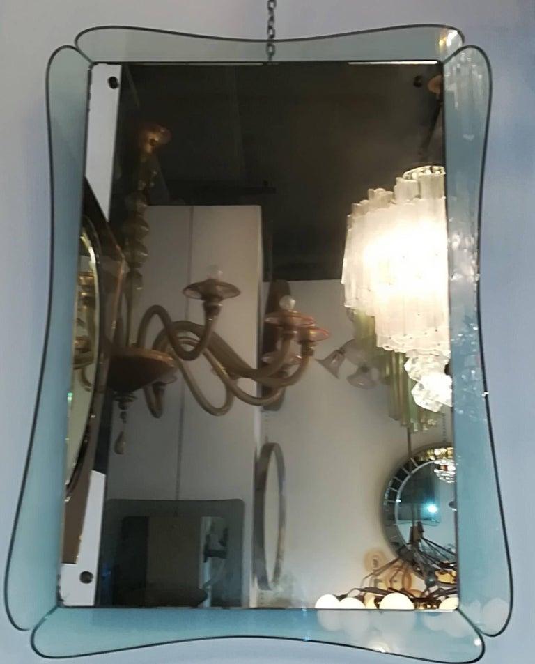 Mid-20th Century Cristal Art 1950 Mirror For Sale