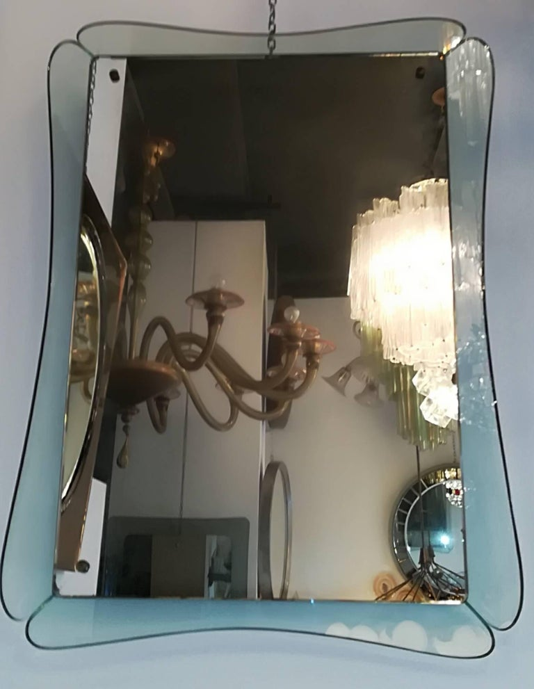 Crystal Cristal Art 1950 Mirror For Sale