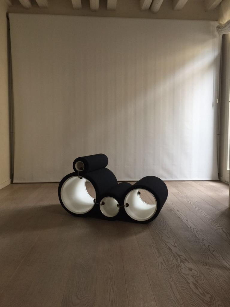 Joe Colombo Tube Chair In Good Condition For Sale In Paris, FR