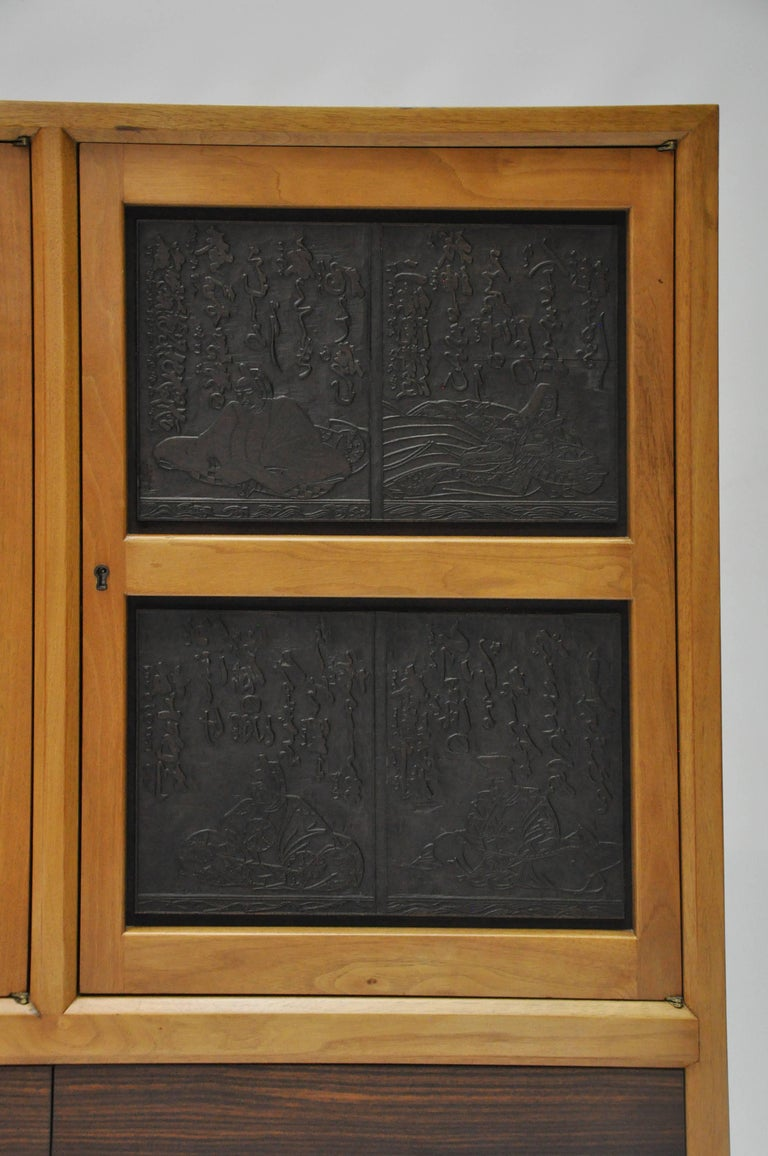 Edward Wormley For Dunbar Janus Cabinet Doors With
