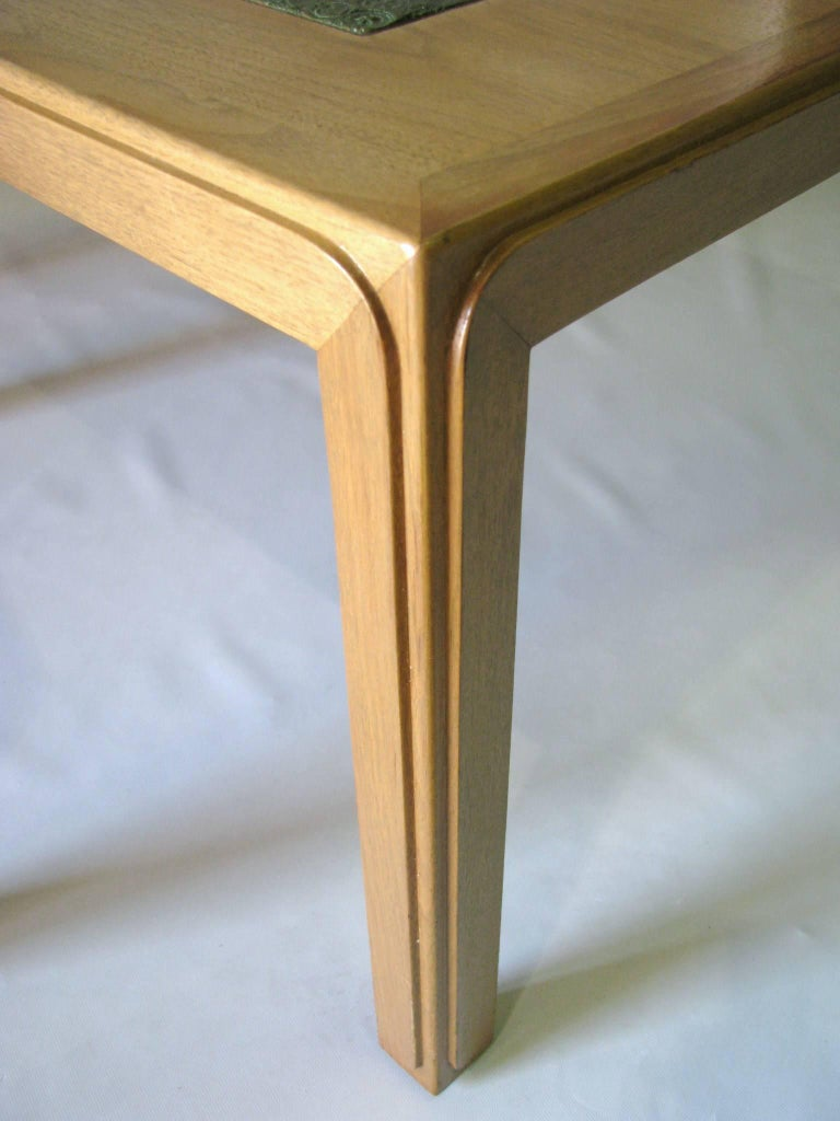 Pair Of Ed Wormley For Dunbar Mahogany End Tables With