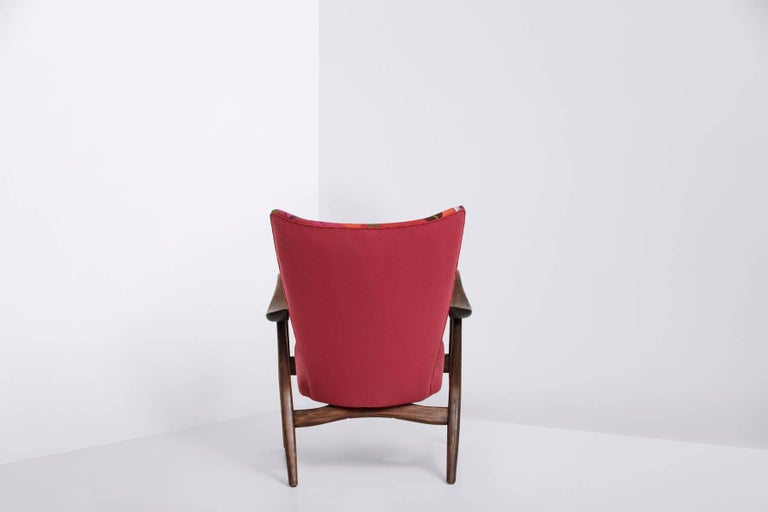 Frame of stained beech