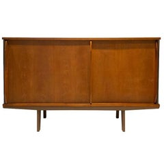 'Bahut' Cabinet Designed by Jean Prouve, circa 1950, France