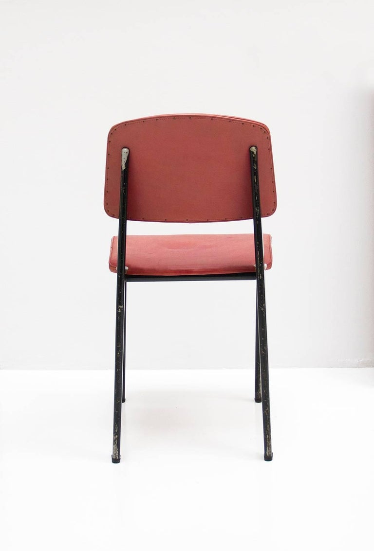 Standard Chair Designed by Jean Prouve, circa 1950, France 10