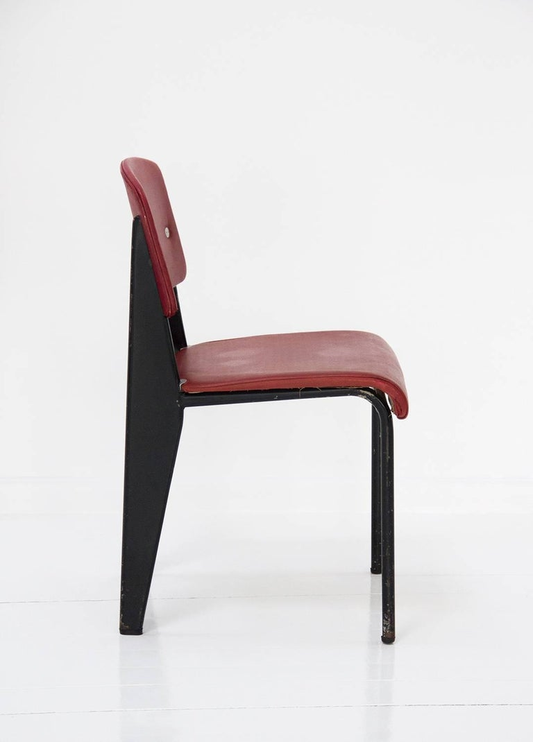 Standard Chair Designed by Jean Prouve, circa 1950, France 7