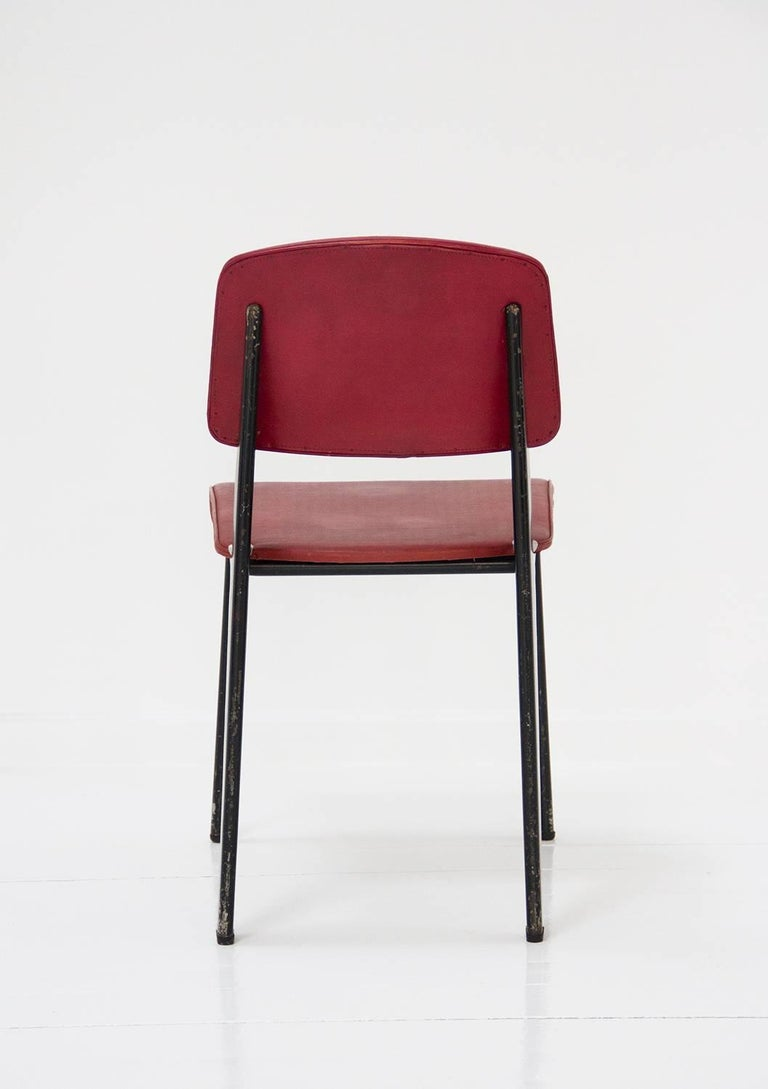 Standard Chair Designed by Jean Prouve, circa 1950, France 9