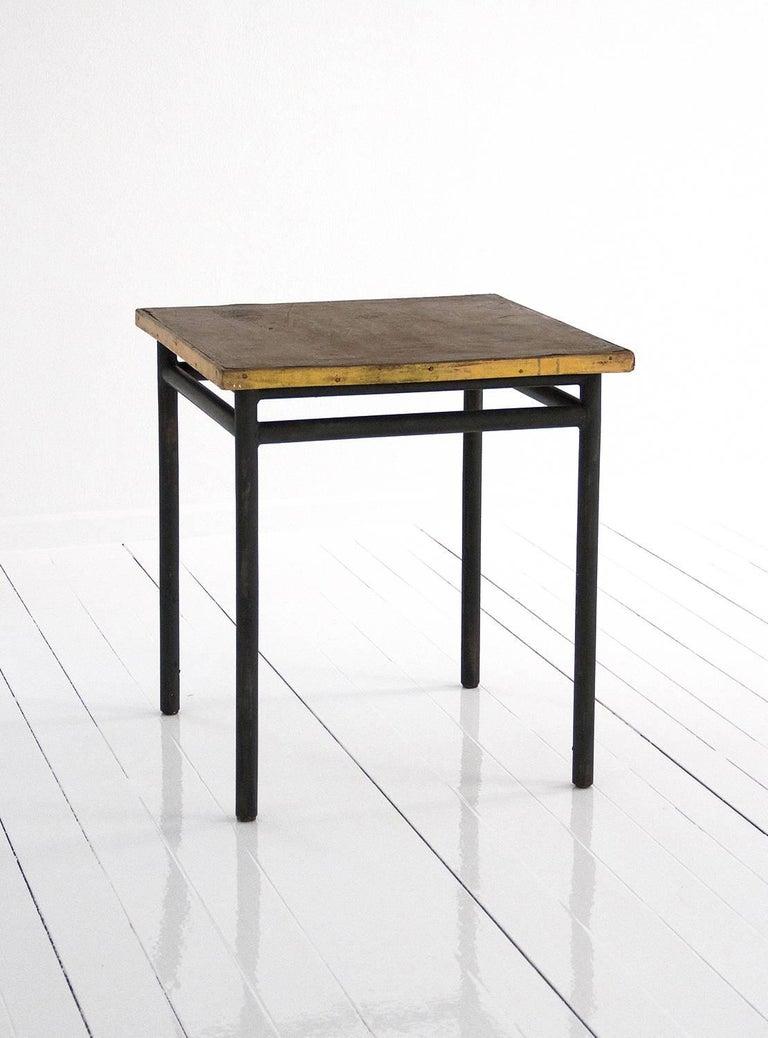 table designed by le corbusier for 39 la cite du refuge 39 in paris 1929 france for sale at 1stdibs. Black Bedroom Furniture Sets. Home Design Ideas