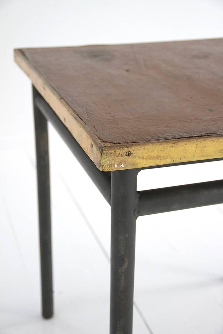 table designed by le corbusier for 39 la cite du refuge 39 in. Black Bedroom Furniture Sets. Home Design Ideas