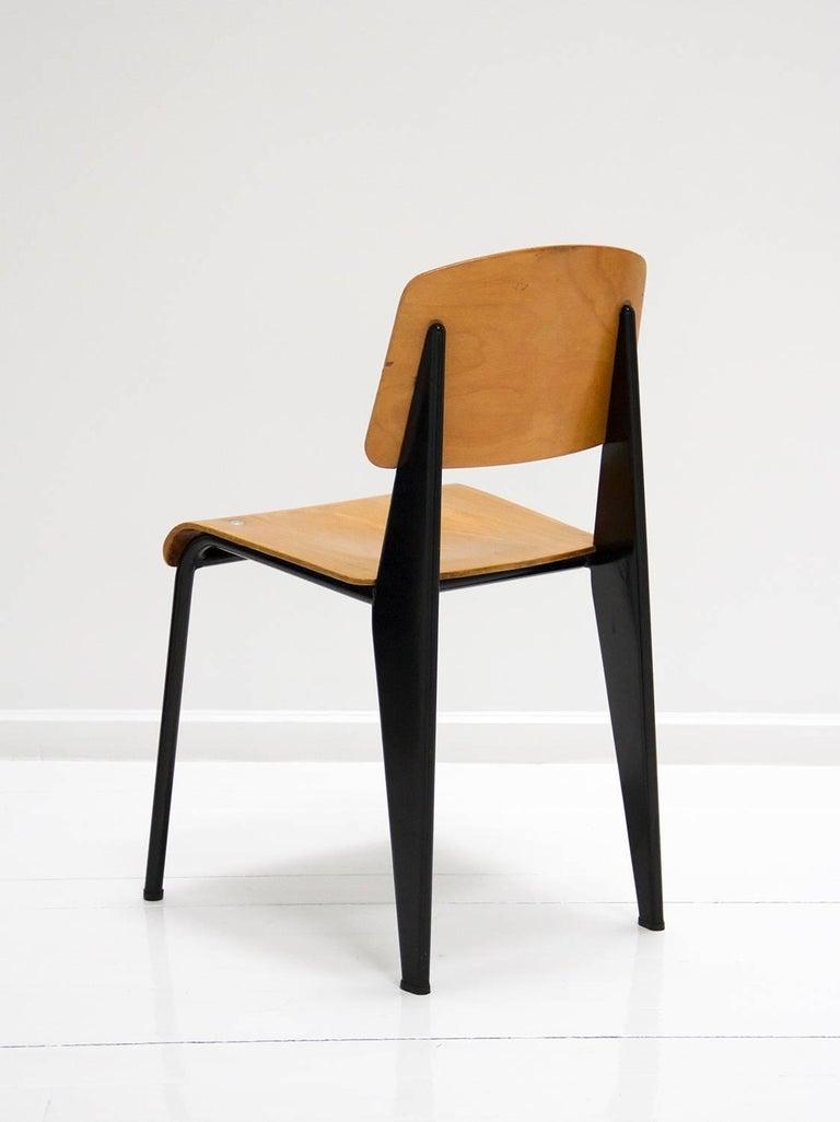 Standard chair by jean prouve model m tropole no 305 - Jean prouve chaise standard ...