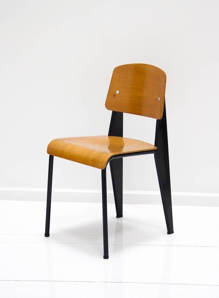 Standard chair by jean prouve model m tropole no 305 - Chaise standard jean prouve ...