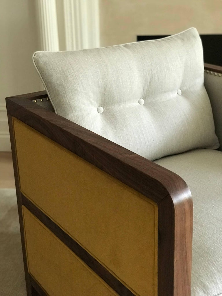 Art Deco Extra Large Bacco Deconstructed Armchair ...