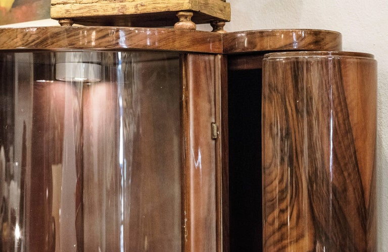 20th Century Art Deco Style French Bar Cabinet For Sale 1