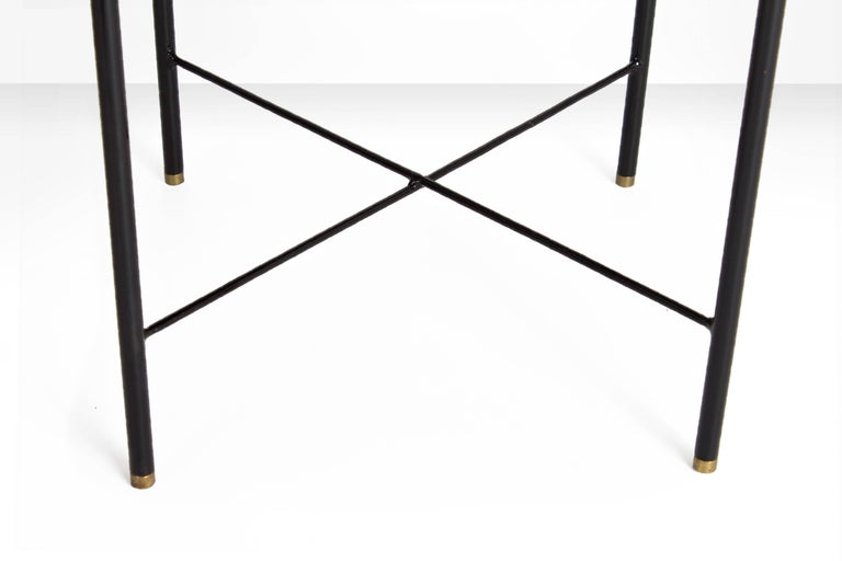Pair of Side Tables by Geraldo de Barros, Brazil, 1960s In Good Condition For Sale In Utrecht, NL