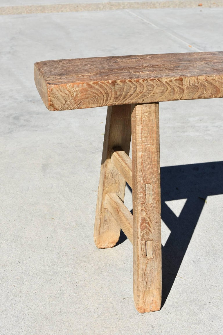 Antique Rustic Country Benches Set Of 2 For Sale At 1stdibs
