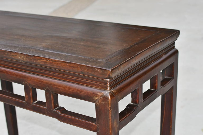 Chinese Antique Side Table, Ming Style, Double Sided For Sale 1