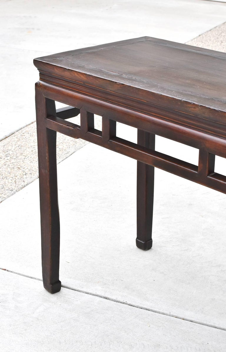Chinese Antique Side Table, Ming Style, Double Sided For Sale 2