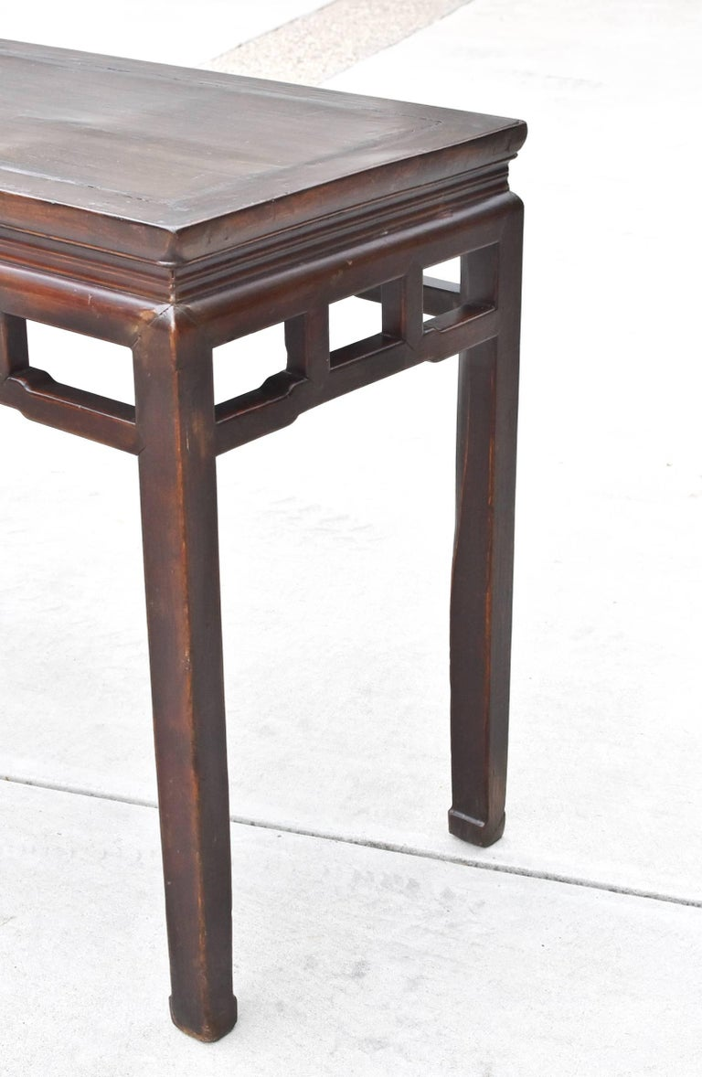 Chinese Antique Side Table, Ming Style, Double Sided For Sale 3