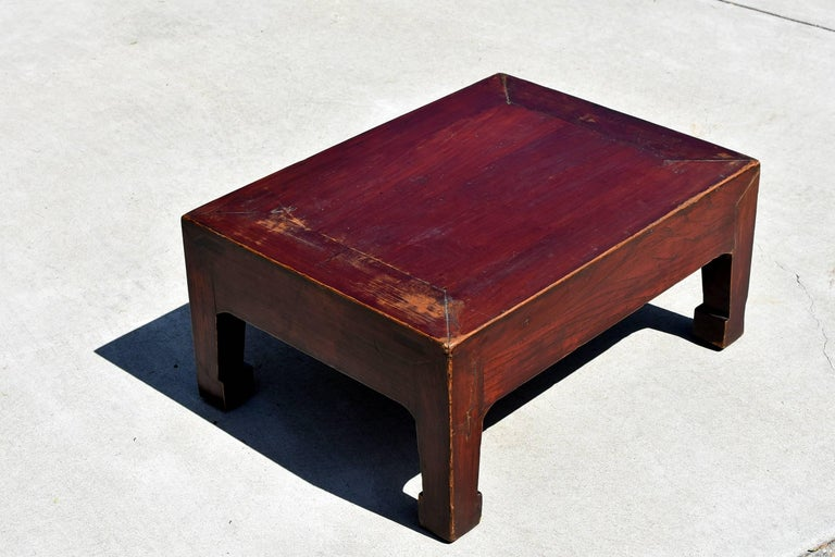 Joinery Antique Low Table For Sale