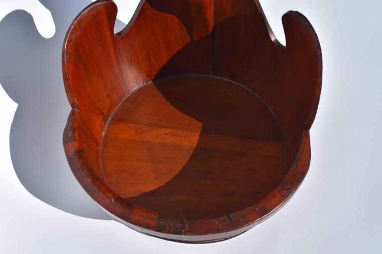 Antique Goose Basket, Chinese Handmade Basket For Sale 1