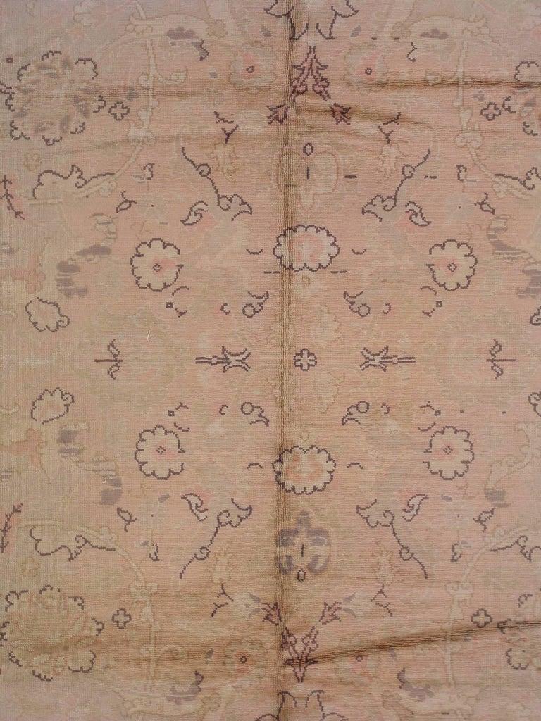 Polonaise antique oriental rugs - Peach Antique Polonaise European Rug Circa 1920 2