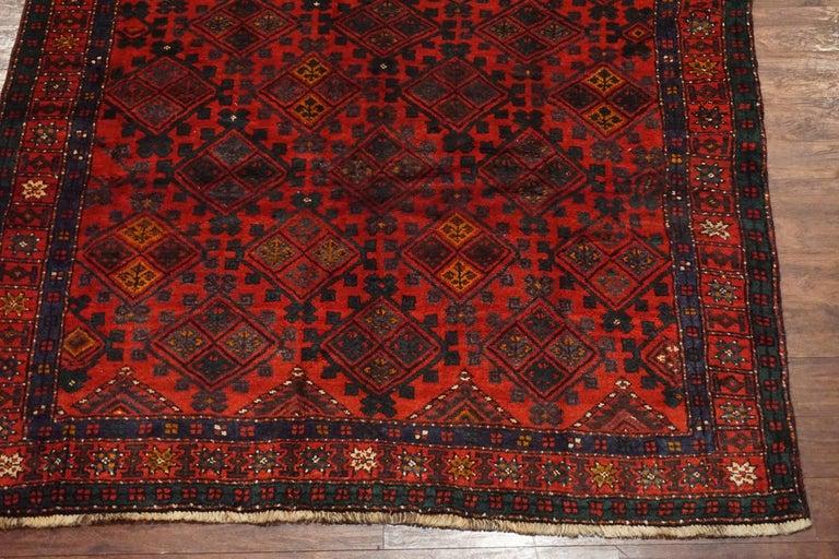 Signed Kurdish Tribal Area Rug Circa 1900 For Sale At 1stdibs