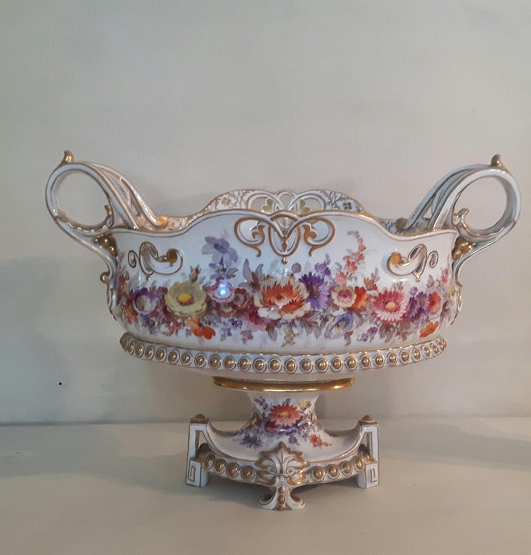 German Early 20th Century Berlin Center Piece For Sale