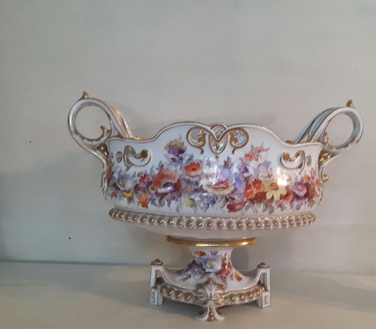 Glazed Early 20th Century Berlin Center Piece For Sale