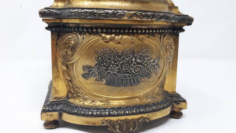 Glazed 19th Century Sevres Casket For Sale