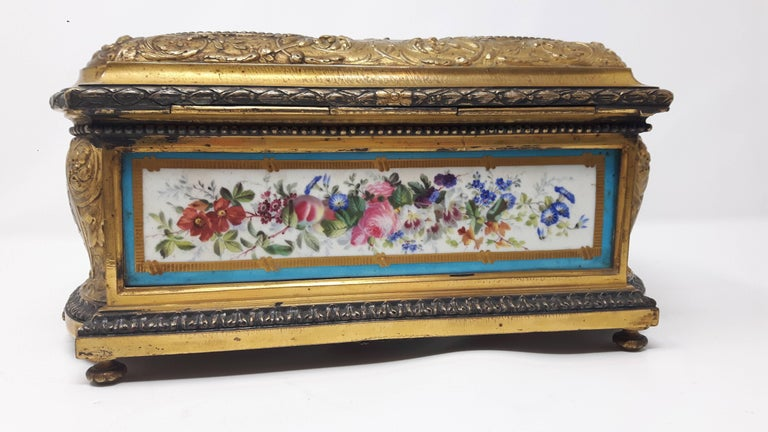 19th Century Sevres Casket In Excellent Condition For Sale In London, GB