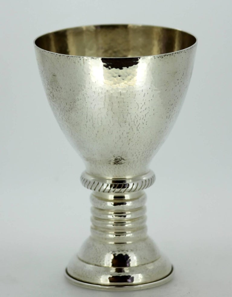 Lalounis Solid Sterling Silver Greek Goblet Circa 1950