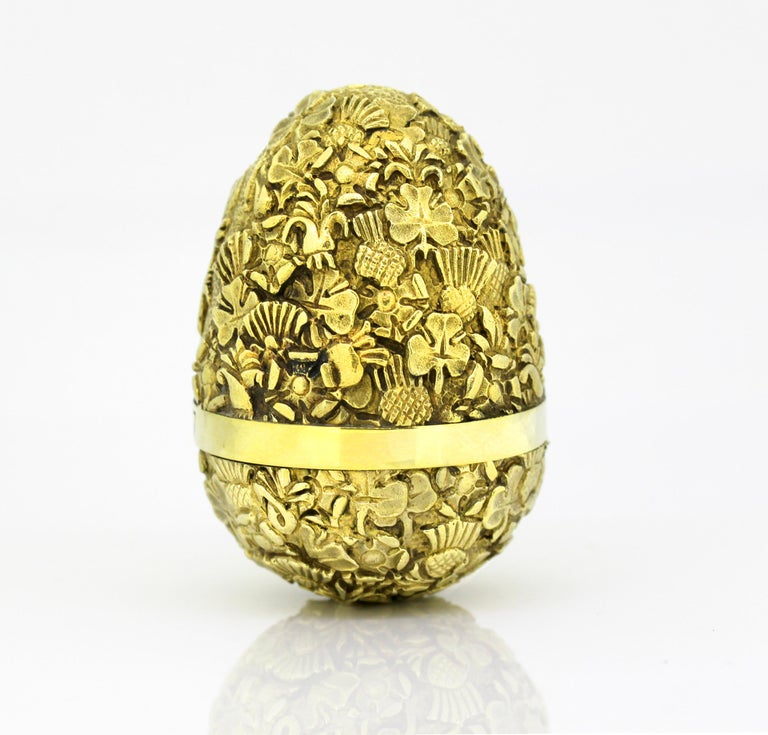 Stuart Devlin Surprise Egg In Excellent Condition For Sale In Braintree, GB