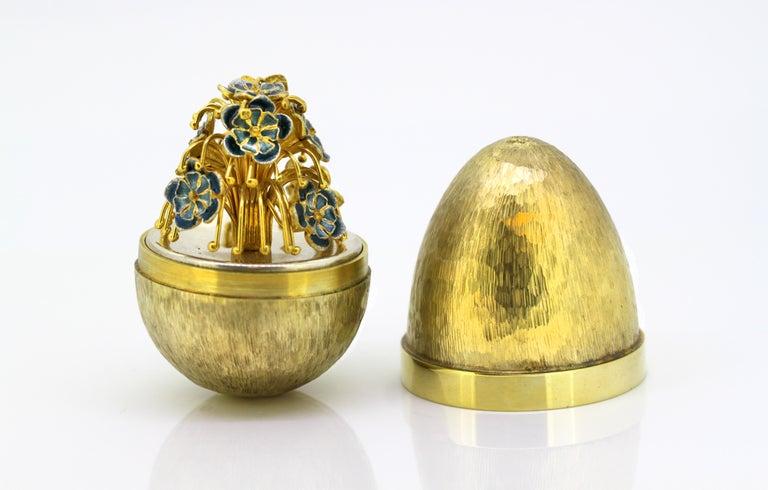 British Stuart Devlin Surprise Egg For Sale