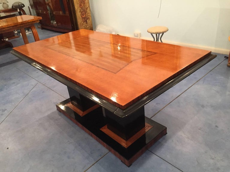 art deco dining table italy 1940 for sale at 1stdibs. Black Bedroom Furniture Sets. Home Design Ideas