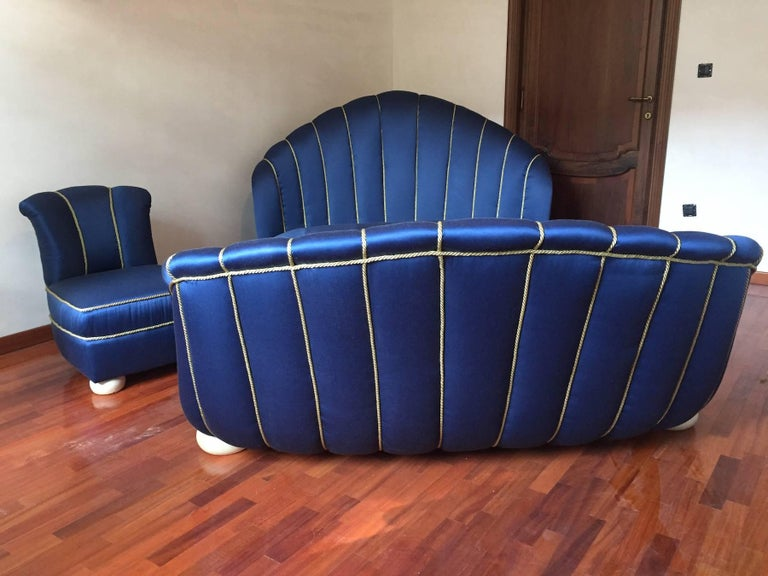 Mid-20th Century French Art Deco Bed, 1930 For Sale