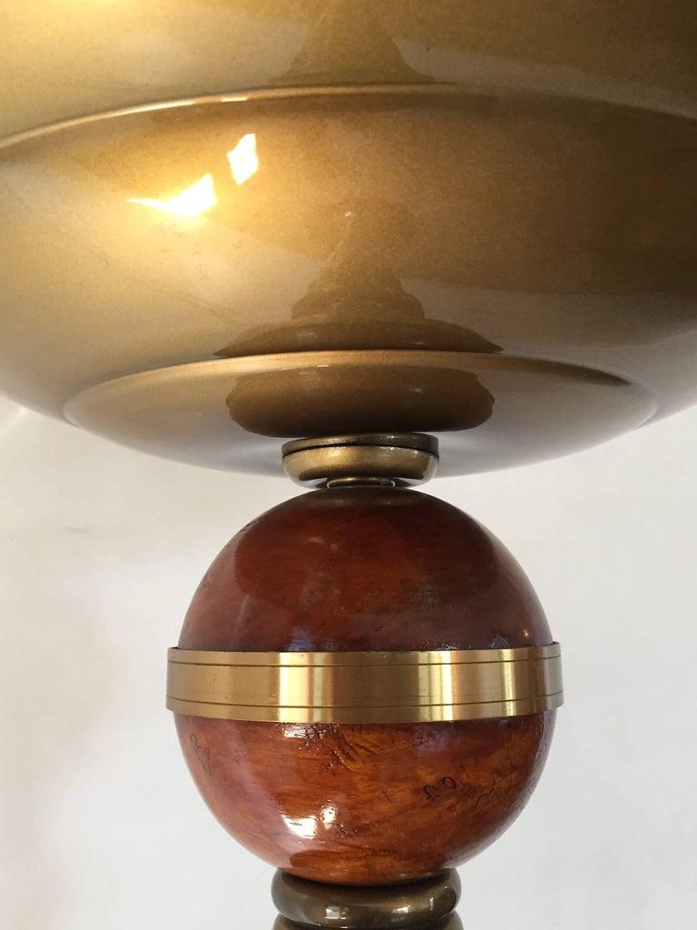 Mid-20th Century Midcentury French Art Deco Floor Lamp, 1930s For Sale