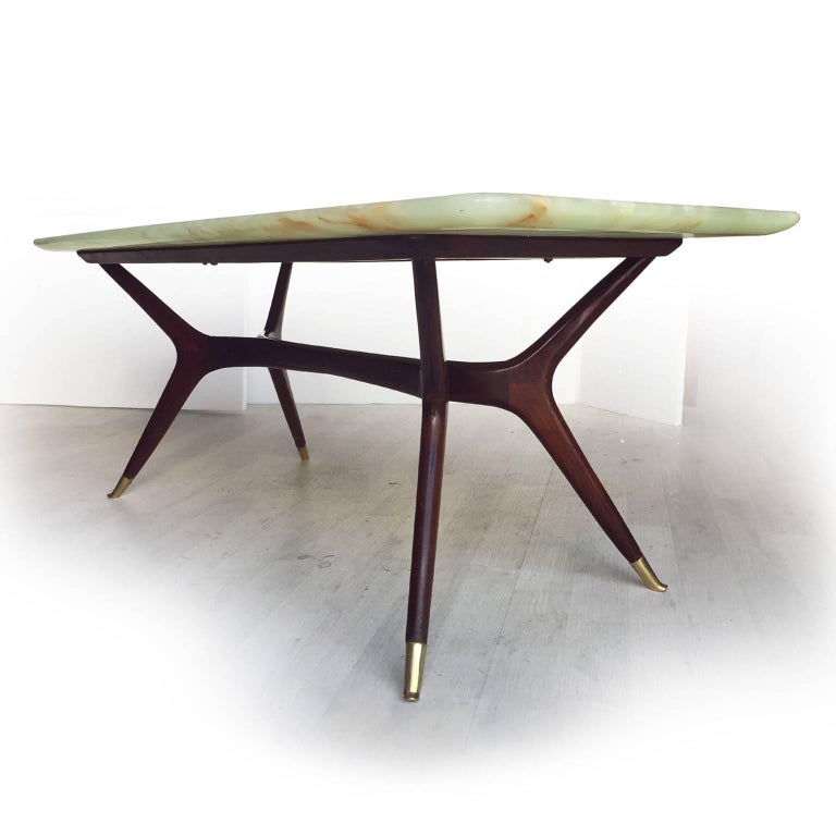 Mid-Century Modern Italian Mid-Century Coffee Table attributed to Ico Parisi, 1950s For Sale