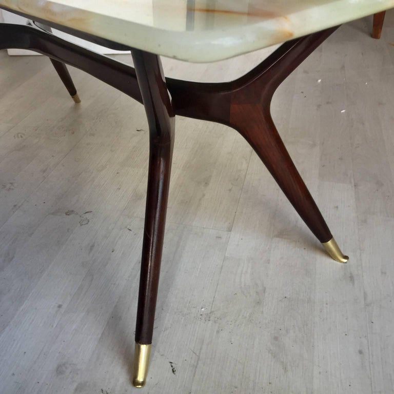 Mid-Century Modern Italian Coffee Table attributed to Ico Parisi, 1950s 7
