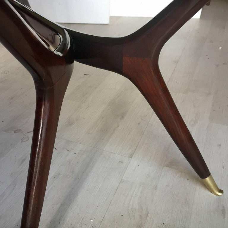 Mid-Century Modern Italian Coffee Table attributed to Ico Parisi, 1950s 8