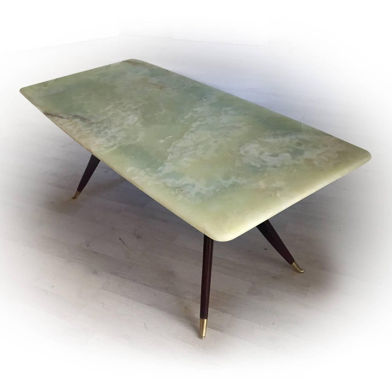 Mid-Century Modern Italian Coffee Table attributed to Ico Parisi, 1950s 10