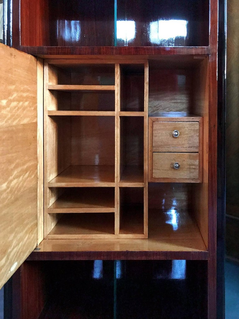 Italian Midcentury Rosewood Secretaire attributed to Paolo Buffa, 1950s In Good Condition For Sale In Traversetolo, IT