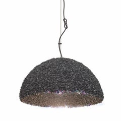 Duchess Pendant Medium Black-Ceiling Lamp Swarovski Crystal