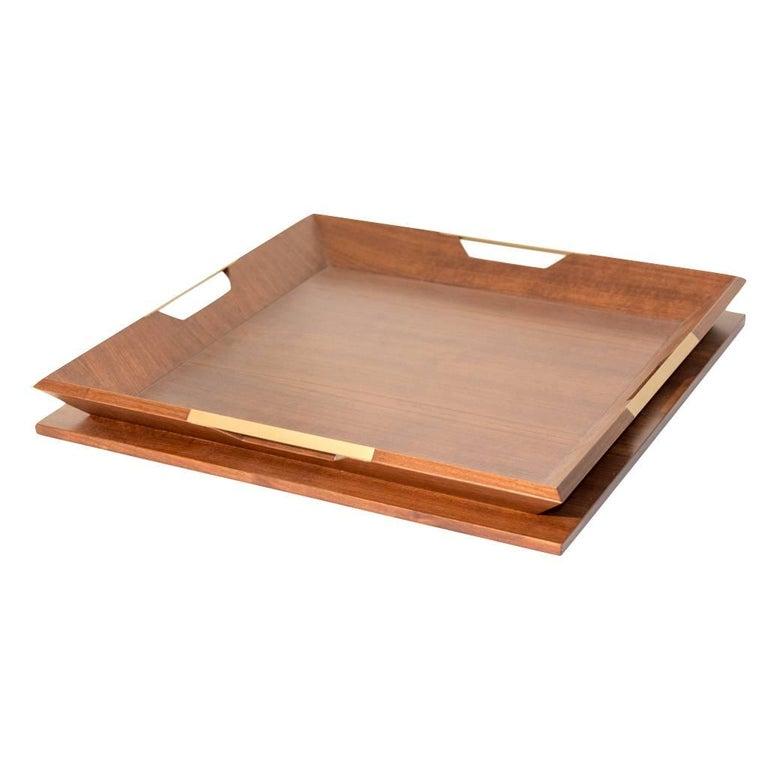 Le Tray/Walnut, Oakwood Tray For Sale