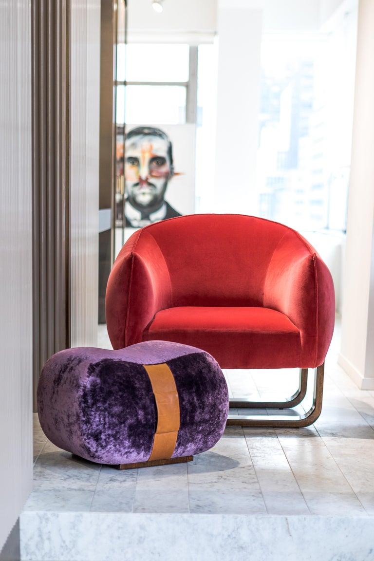 Mid-Century Modern Milo Armchair For Sale