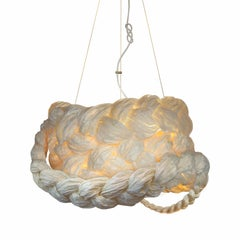 Bride Pendant Large White-Ceiling Lamp Created from Paper